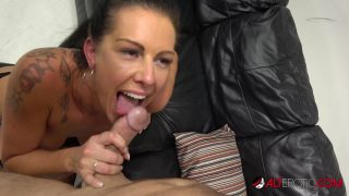 Texas Patti is so happy while licking her husband's dick